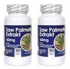 2 x Saw Palmetto extrakt (2 x 180 kapsúl)